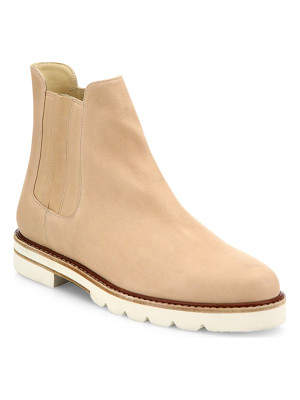 STUART WEITZMAN Milano Leather Chelsea Booties