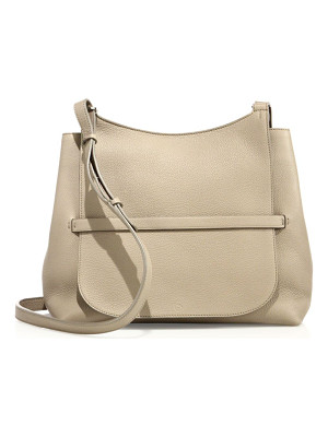 THE ROW Sideby Pebbled Leather Crossbody Bag