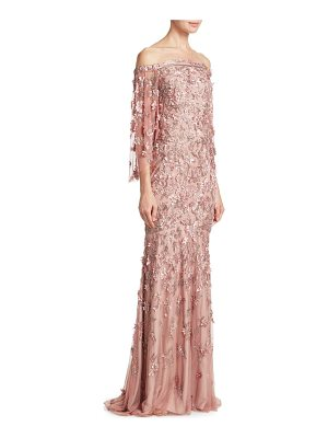 Theia vintage column gown