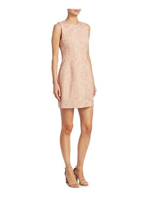 Theory hourglass jacquard dress