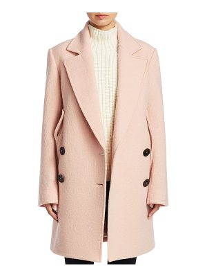 THEORY Wool Cape Coat