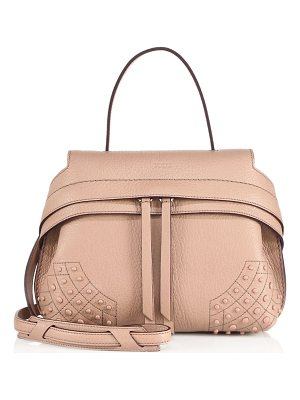 TOD'S Wave Mini Gommini Leather Satchel