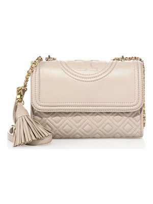 TORY BURCH Fleming Small Quilted Leather Shoulder Bag