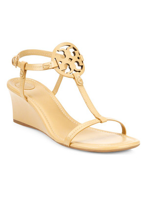 TORY BURCH Miller Leather Wedge Sandals