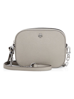 TORY BURCH Robinson Round Saffiano Leather Crossbody Bag