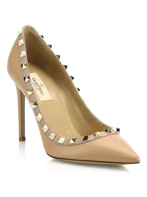 VALENTINO Leather Rockstud Pumps
