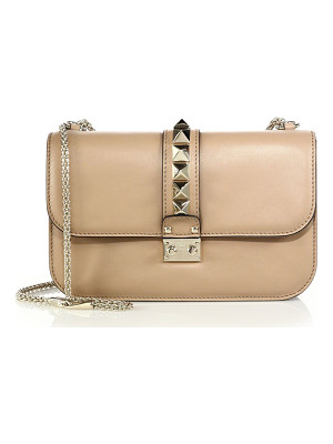 VALENTINO Rockstud Lock Medium Shoulder Bag
