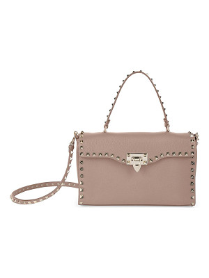 VALENTINO Rockstud Small Leather Top-Handle Bag