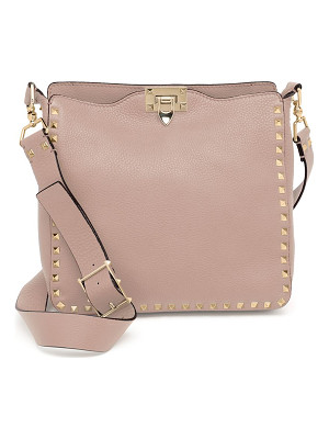 Valentino rockstud utilitarian small leather crossbody bag