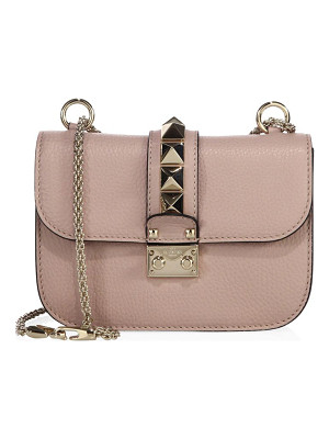 VALENTINO Small Lock Leather Chain Shoulder Bag