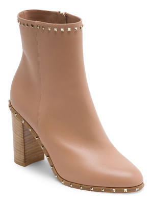 Valentino soul rockstud leather booties