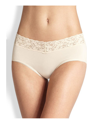 WACOAL Cotton Suede Hipster Brief