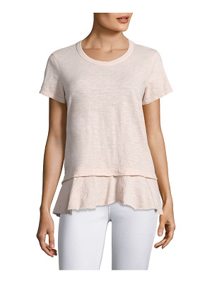 WILT Mock Layered Cotton Tee
