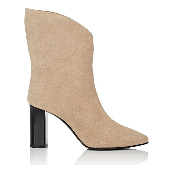 ACNE STUDIOS Ava suede ankle boots-beige, tan - Acne Studio's beige suede Ava ankle boots are designed with...
