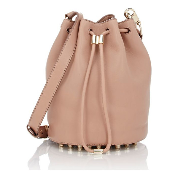 ALEXANDER WANG Alpha bucket bag-nude - Alexander Wang blush smooth leather Alpha bucket bag....