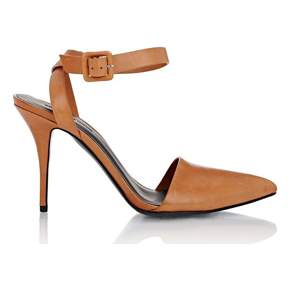 ALEXANDER WANG Lovisa ankle-strap pumps-nude - Alexander Wang's tan smooth leather Lovisa pumps are styled...