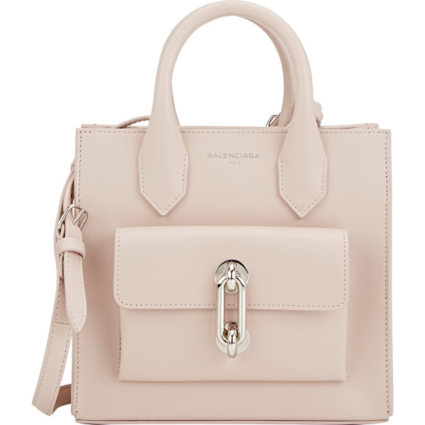 BALENCIAGA Maillon mini all-pink - Balenciaga Rose Poudre smooth calfskin Maillon mini All...