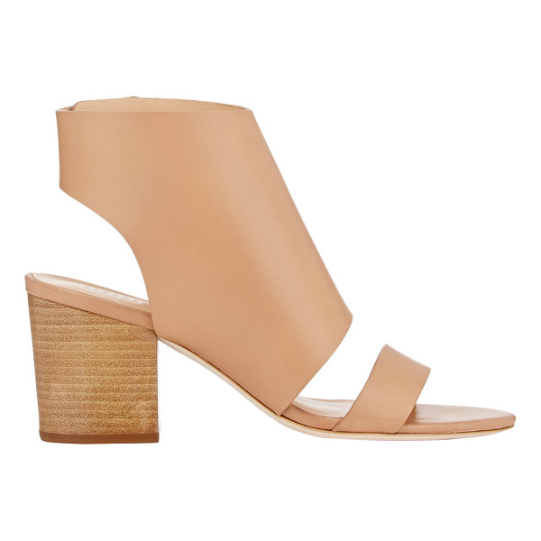 BARNEYS NEW YORK Halter-strap sandals-nude - Exclusively Ours! Barneys New York tan smooth calfskin...