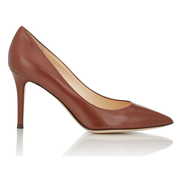 BARNEYS NEW YORK Barneys new york nataly pointed-toe pumps-yellow - Exclusively Ours! Barneys New York cognac kidskin Nataly...
