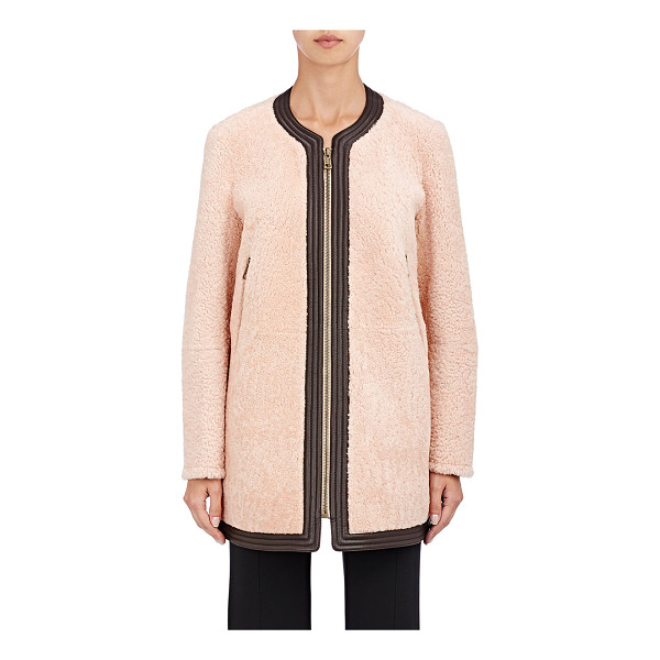 CHLOE Shearling coat-colorless - Crafted of pink lamb shearling, Chloe's coat is detailed...