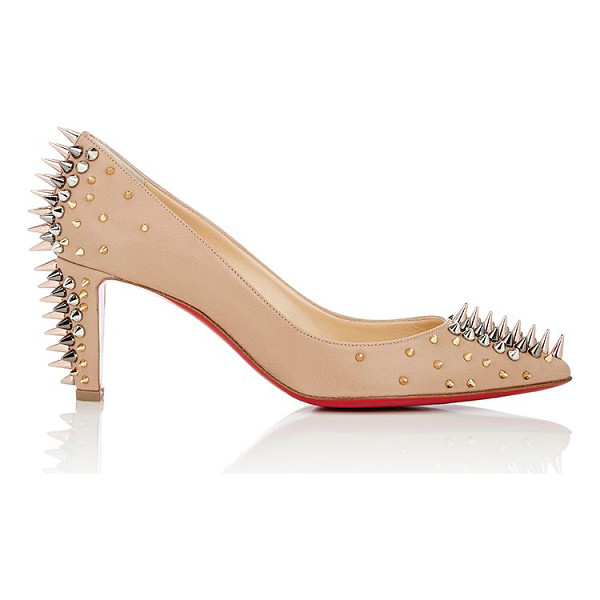 """CHRISTIAN LOUBOUTIN """"goldopump"""" pumps-nude - Crafted of beige nappa leather, Christian Louboutin's..."""