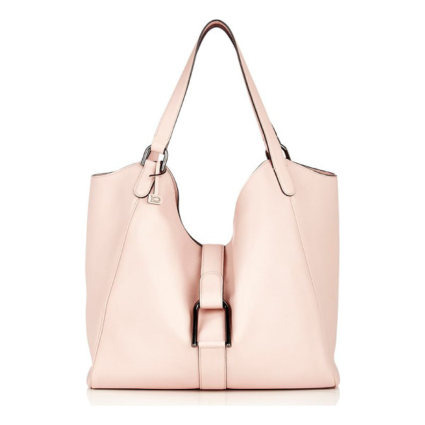 DELVAUX Givry besace hobo-nude - Delvaux blush grained leather Givry Besace hobo bag....