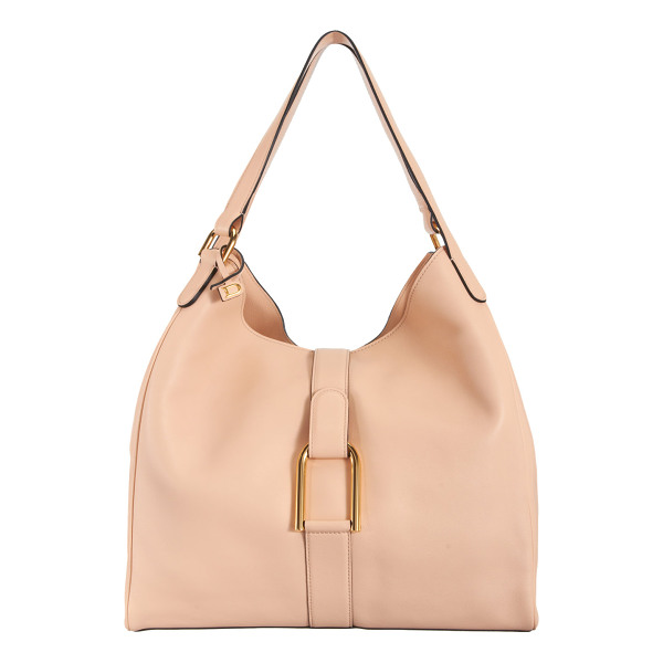 DELVAUX Givry besace-nude - Exclusively Ours! Delvaux nude smooth Polo leather Givry...