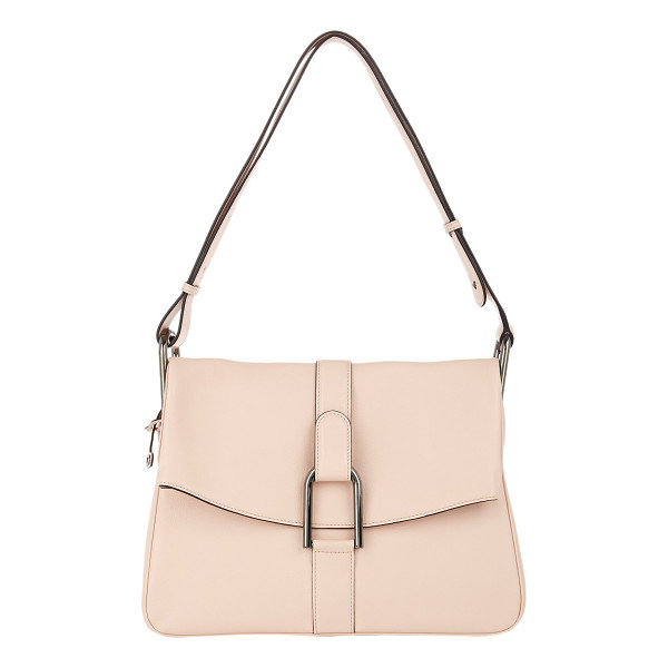DELVAUX Givry shoulder bag-nude - Exclusively Ours! Delvaux blush supple grained Polo leather...