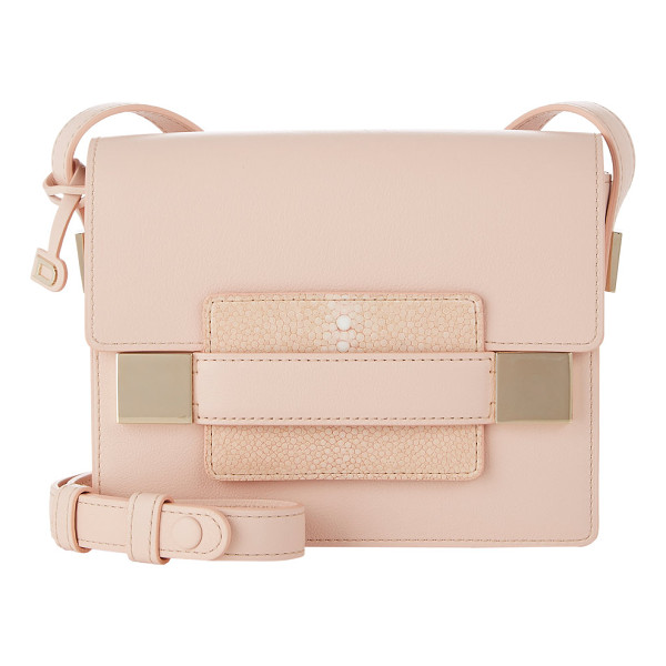 DELVAUX Madame mini shoulder bag-nude - Exclusively Ours! Delvaux powder pink Polo leather Madame...