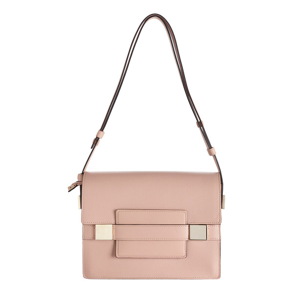 DELVAUX Madame pm shoulder bag-pink - Exclusively Ours! Delvaux Poudre (powder pink) smooth Polo...