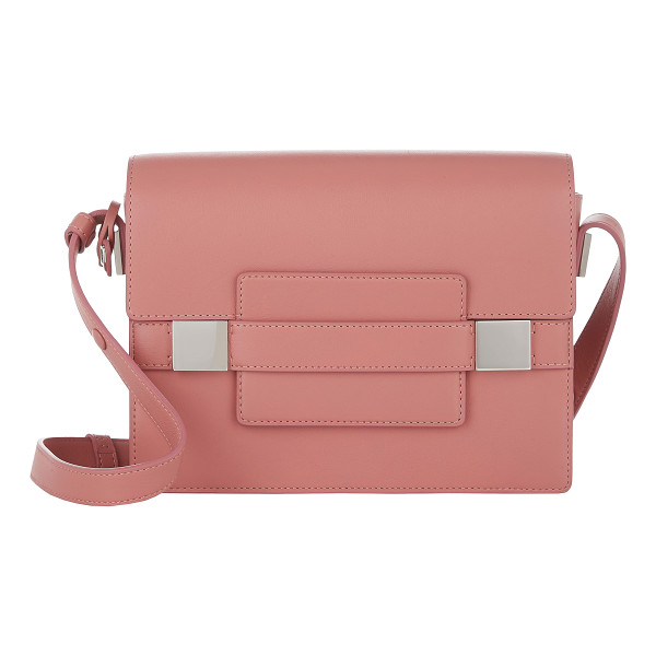 DELVAUX Madame pm shoulder bag-pink - Exclusively Ours! Delvaux Bois de Rose (rose) Polo leather...