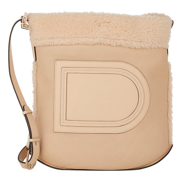 DELVAUX Le pin shoulder bag-nude - Exclusively Ours! Delvaux beige supple leather Le Pin...