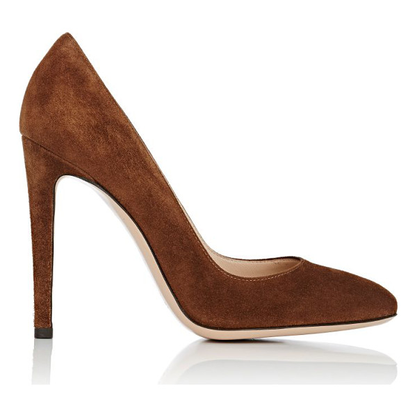 GIANVITO ROSSI Roma pumps-brown - Exclusively Ours! Gianvito Rossi Texas (dark brown) suede...