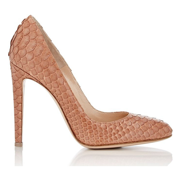 GIANVITO ROSSI Python roma pumps-brown - Exclusively Ours! Gianvito Rossi Black Luggage (brown)...