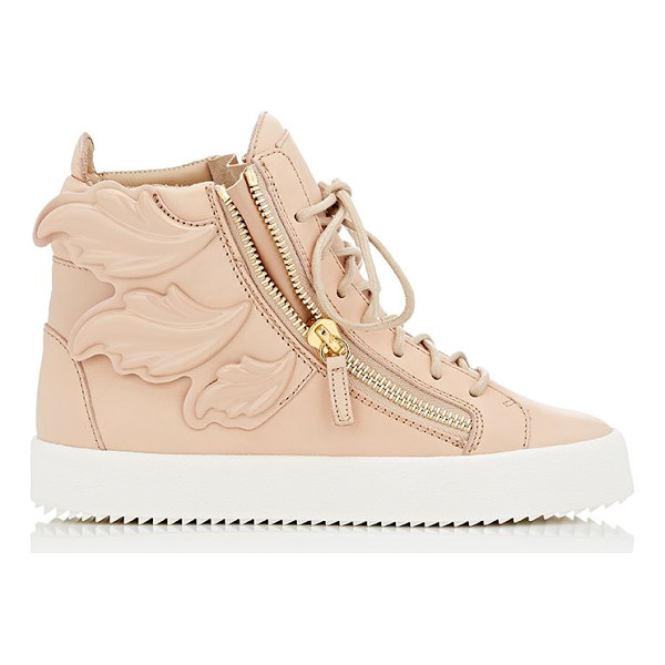 "GIUSEPPE ZANOTTI ""cruel"" double-zip sneakers-beige - Giuseppe Zanotti's ""Cruel"" high-top sneakers are crafted of..."
