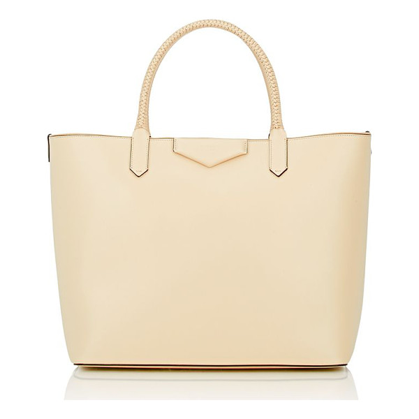 GIVENCHY Antigona large shopper tote-colorless - Exclusively Ours! Givenchy Beige Buff smooth leather...
