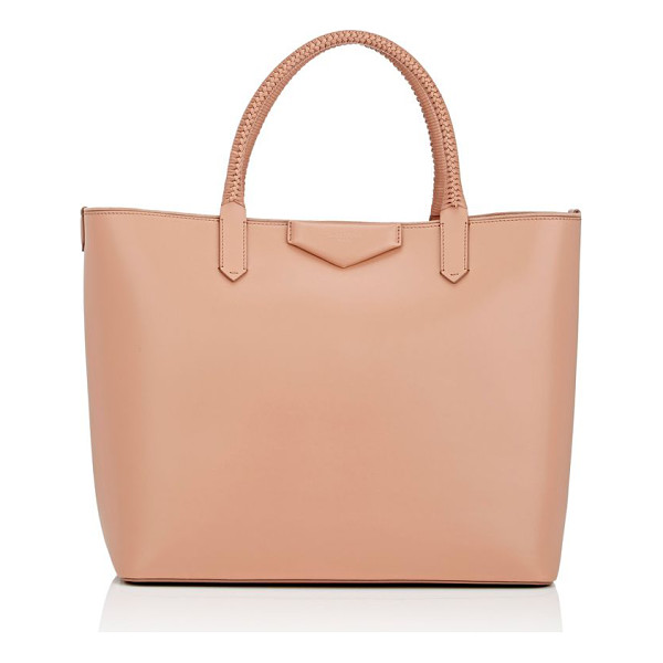GIVENCHY Antigona large tote bag-tan - Givenchy's blush smooth calfskin Antigona large shopper...
