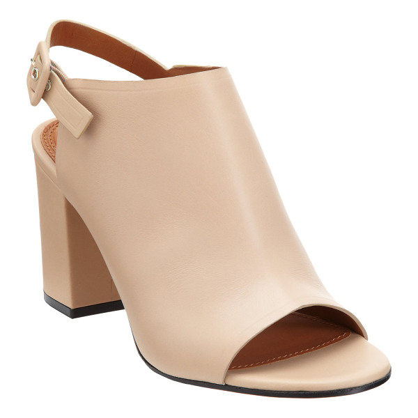 GIVENCHY Slingback glove sandal-nude - Smooth calfskin leather open toe glove sandal with tonal...