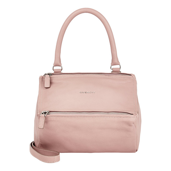 GIVENCHY Pandora small messenger-pink - Givenchy pink grained goatskin small Pandora messenger....