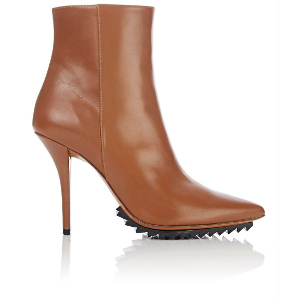 GIVENCHY Strettoia ankle boots-tan - Crafted of caramel smooth calfskin, Givenchy's Strettoia...