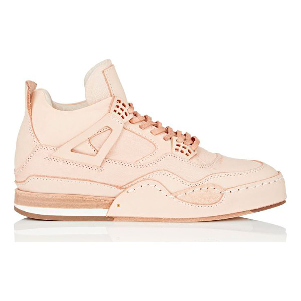 HENDER SCHEME Manual industrial products 10 leather sneakers-nude - Hender Scheme's Manual Industrial Products 10 mid-top...