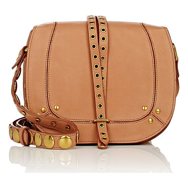 JEROME DREYFUSS Victor medium saddle bag-nude - Exclusively Ours! Jerome Dreyfuss tan smooth lambskin...