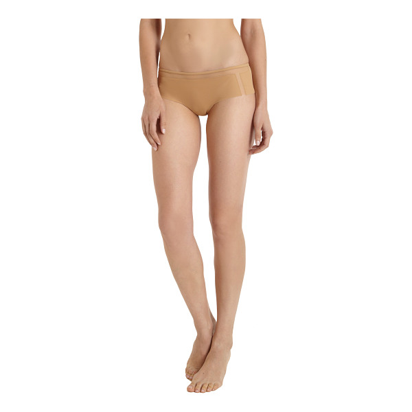 LA PERLA Culotte-nude - La Perla culotte with mesh insets. Available in Nude...