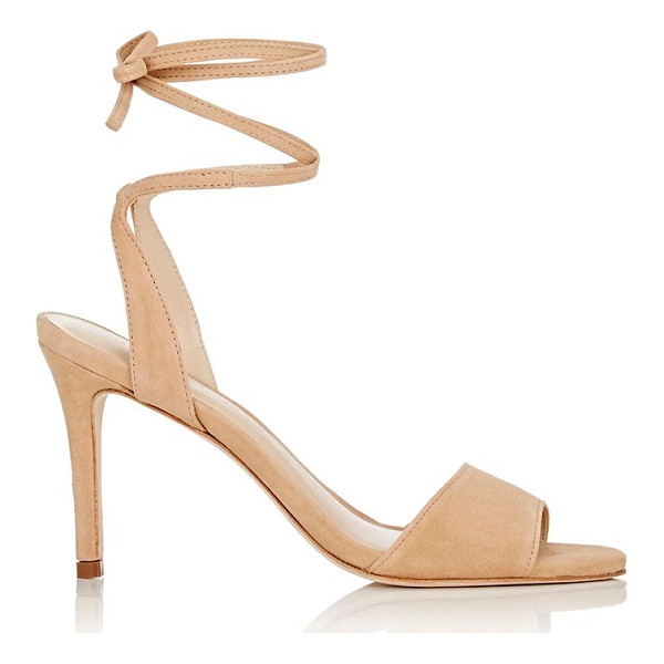 LOEFFLER RANDALL Elyse ankle-tie sandals-tan - Loeffler Randall's Elyse ankle-tie sandals are crafted of...