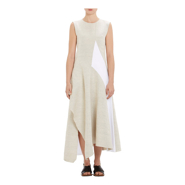 MARNI Spliced asymmetric dress - From Marni's Spring 2015 20th Anniversary collection, a...