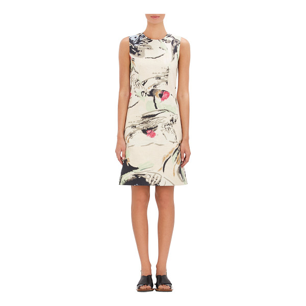 MARNI Watercolor sheath-nude - From Marni's Spring 2015 20th Anniversary collection, this...