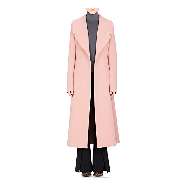 MARNI Wide-lapel coat-pink - Marni pink bonded double-faced worsted virgin wool-blend...