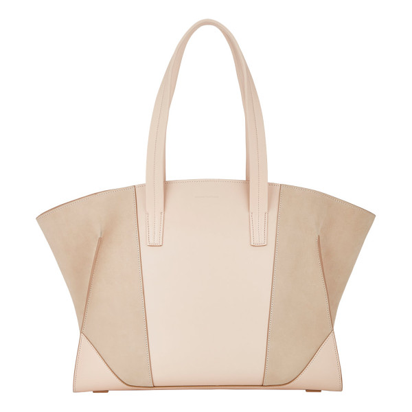 NARCISO RODRIGUEZ Claire tote-colorless - Narciso Rodriguez powder pink supple grained leather and...