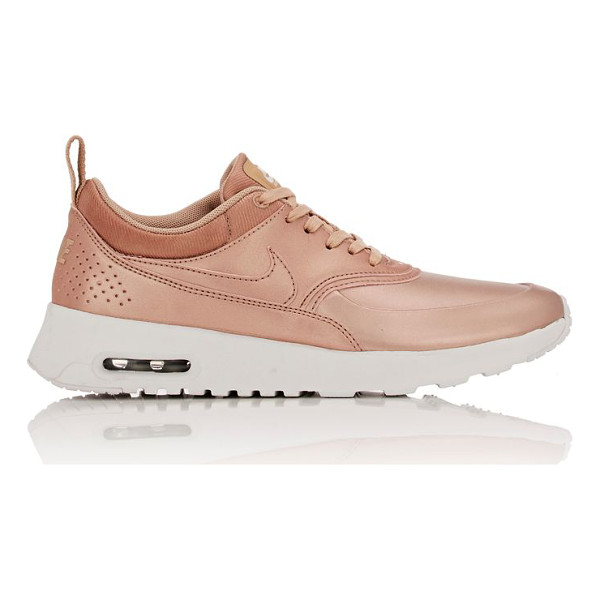NIKE Air max thea leather sneakers-gold - Nike's Air Max Thea low-top sneakers are constructed of...
