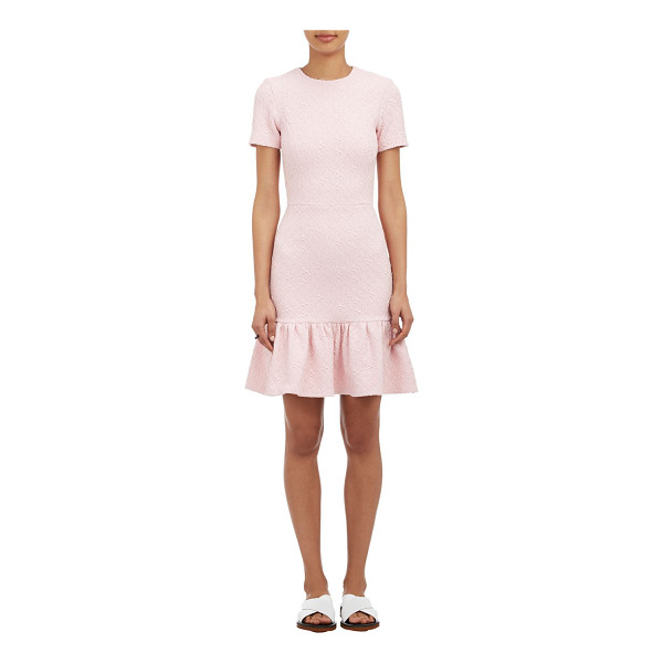 OPENING CEREMONY Textured geo-jacquard dress-pink - Opening Ceremony pink textured geo-jacquard dress styled...